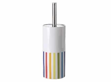 Alfombra baño acrílica líneas multicolor(45x70x10cm